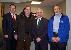 Senator Jack Reed Visits Plastics Group of America (TPG) in Woonsocket